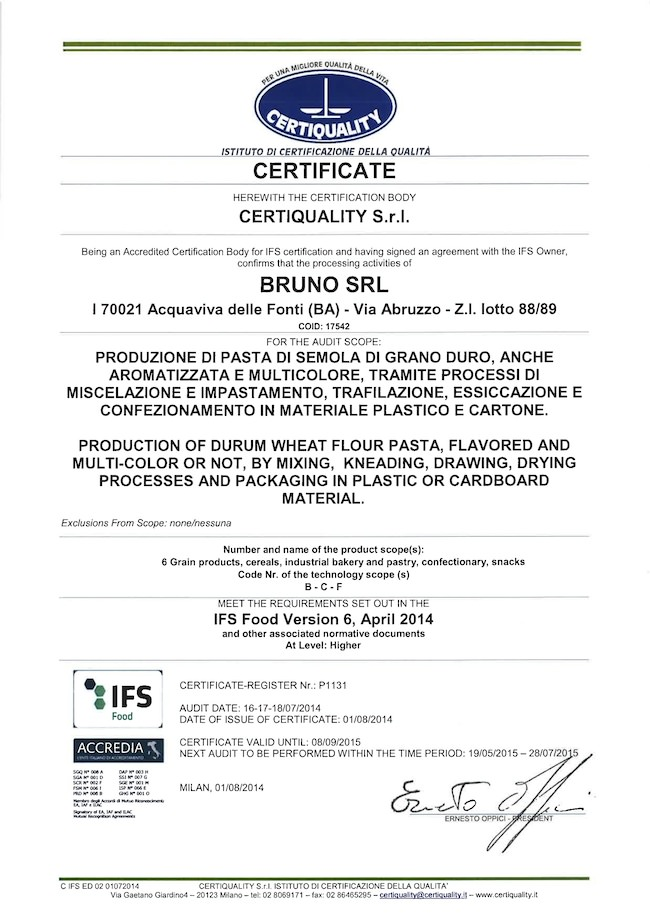 certificato-qualita-pastificio-bruno-srl